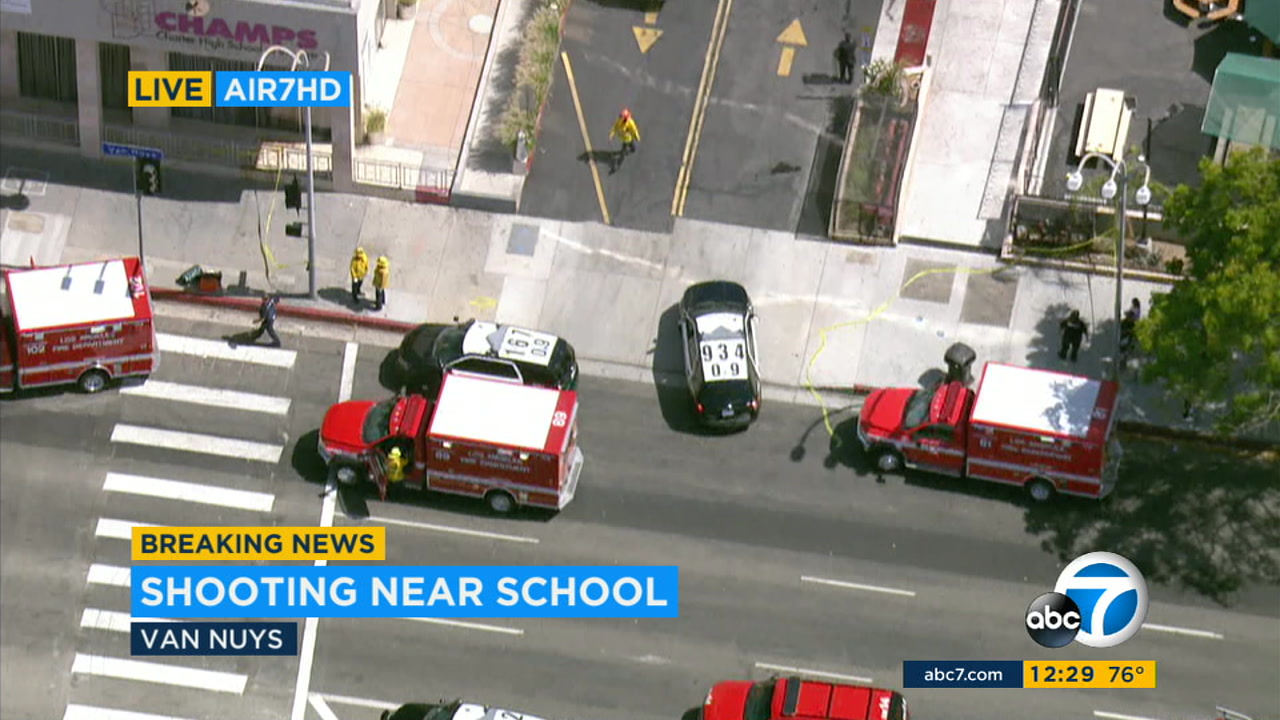 Shooting Near CHAMPS Charter High School In Southern Californiau0027s Van Nuys  Prompts Lockdown | Abc7news.com