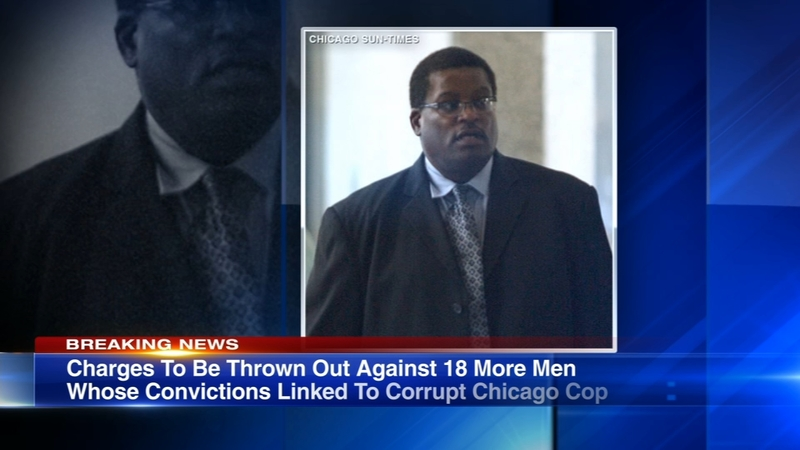 Convictions of 18 men tied to corrupt Chicago police officer to be  overturned