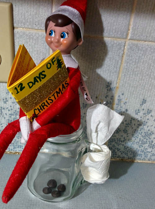 "<div class=""meta image-caption""><div class=""origin-logo origin-image ""><span></span></div><span class=""caption-text"">Elf on the Shelf has become a common fixture in American homes around the holidays; check out some photos from our viewers (Photo/iWitness)</span></div>"