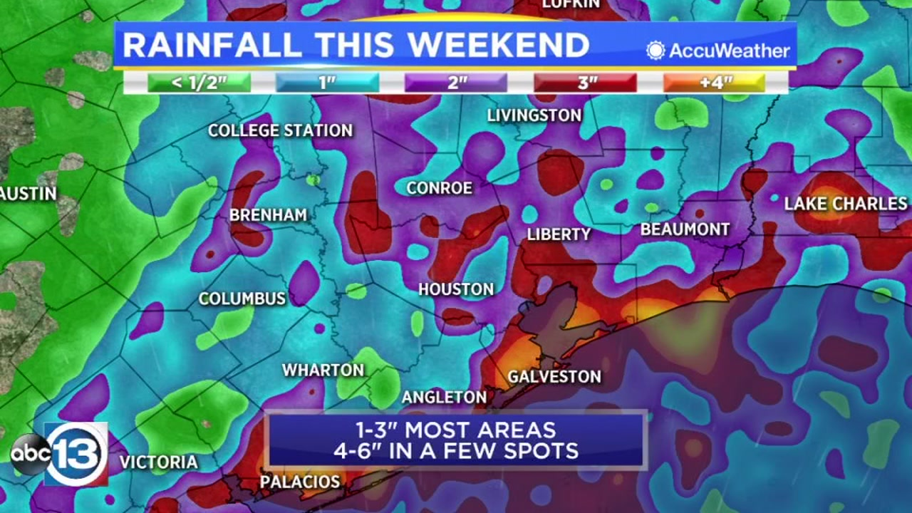 Wet Weather Could Dampen Your Plans Saturday