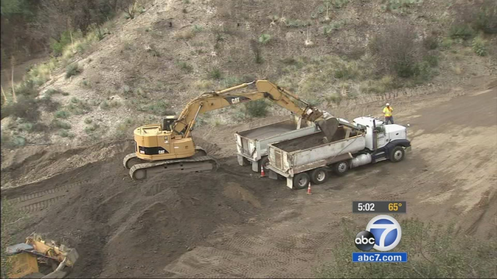 La Rain Catch Basin Clearing Causes Stir With Activists