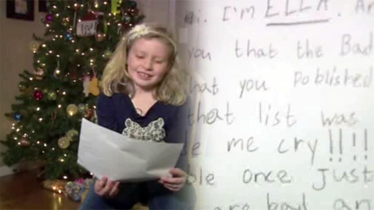 Girl says name on naughty list is a mistake | abc7ny.com
