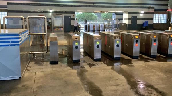 "<div class=""meta image-caption""><div class=""origin-logo origin-image ""><span></span></div><span class=""caption-text"">Cleanup continues at the San Bruno BART station after it was closed for flooding on Thursday, Dec. 11, 2014. (ABC7 News)</span></div>"