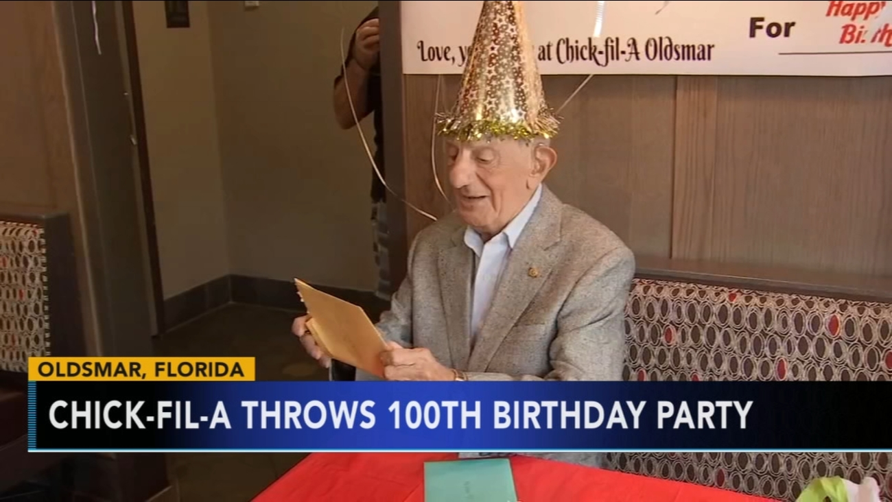 Chick Fil A Surprises Man For His 100th Birthday With Free Food Life