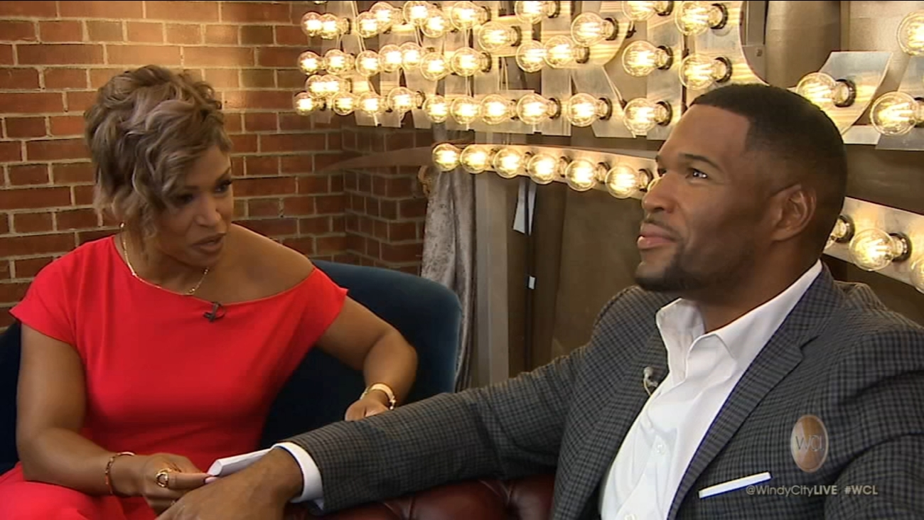 Sarah Haines And Michael Strahan Settle In To Gma Day Abc7chicago
