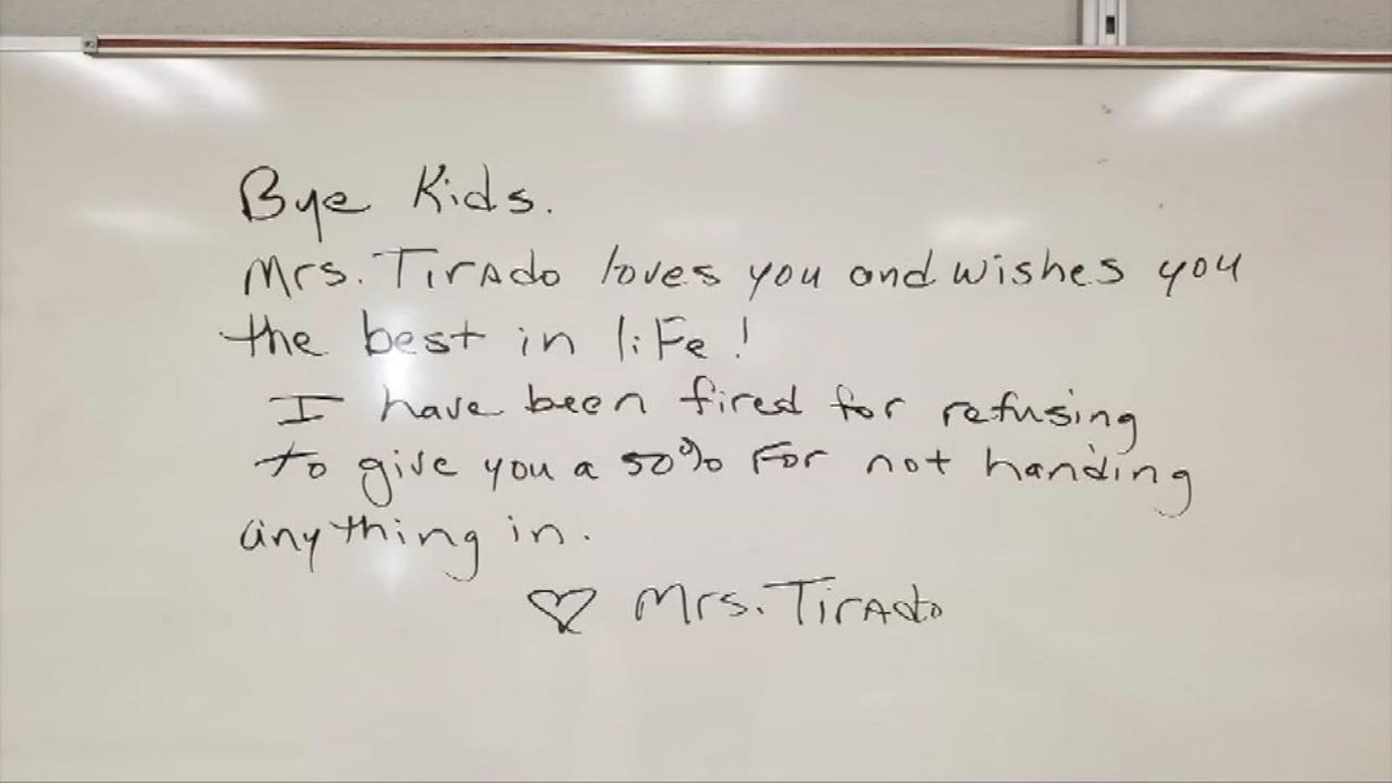 florida teacher fired over no zeros grading policy