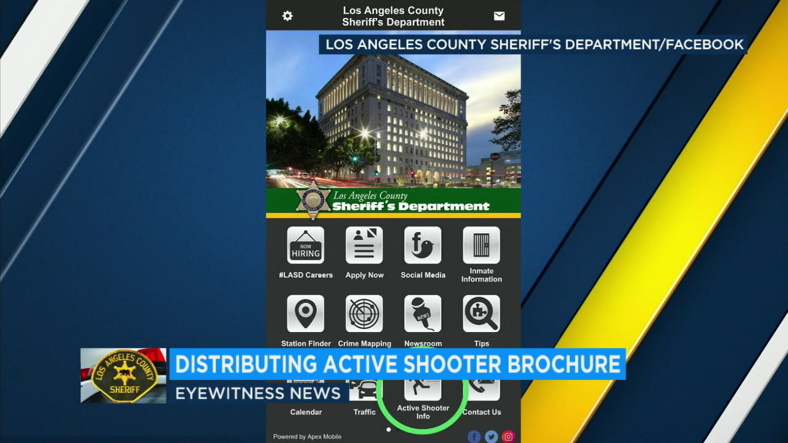 LA County Sheriff's Department offers tips to survive active shooter  situation