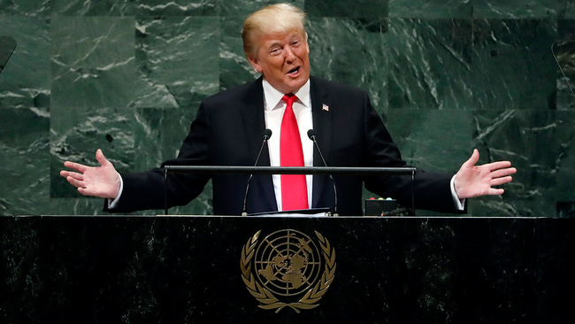 Los angeles and southern california news abc7 kabc trump boasts of americas might draws headshakes laughter at un m4hsunfo