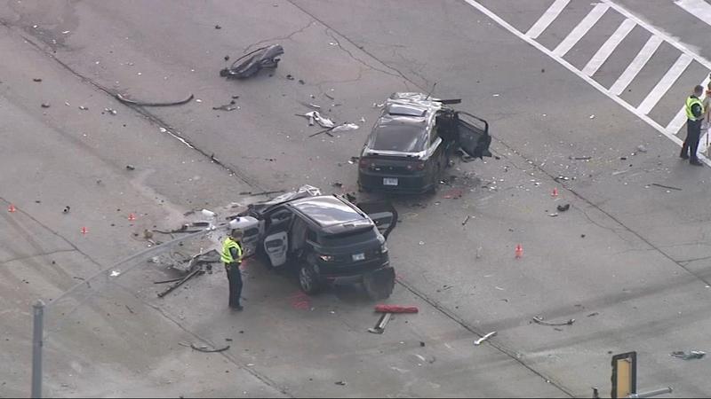 2 killed in Bartlett 5-car crash at Stearns, Munger roads