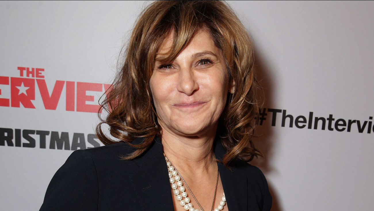 "Amy Pascal, Co-Chairman, Sony Pictures Entertainment Chairman, Sony Pictures Entertainment Motion Picture Group seen at Columbia Pictures World Premiere of ""The Interview."""