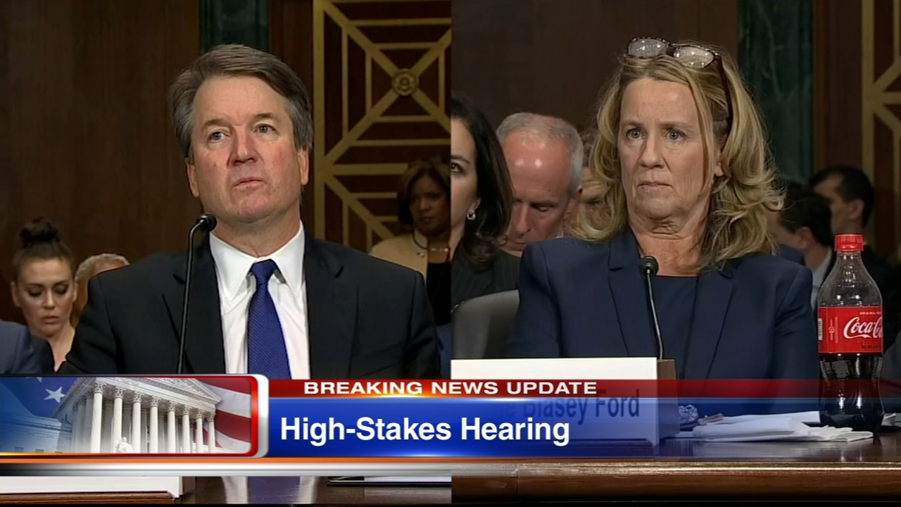 Brett Kavanaugh Christine Blasey Ford Testify Before Senate Confirmation Watch And Latest News In Judiciary Committee