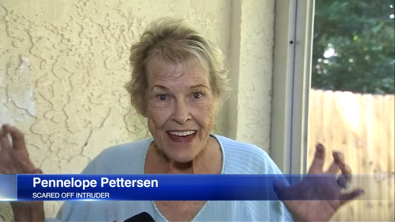 Florida grandma scares off naked intruder by popping her dentures out