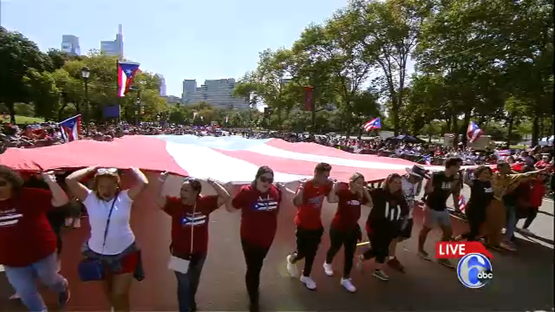 <div class='meta'><div class='origin-logo' data-origin='WPVI'></div><span class='caption-text' data-credit=''>Puerto Rican Day Parade makes its way down the Parkway</span></div>