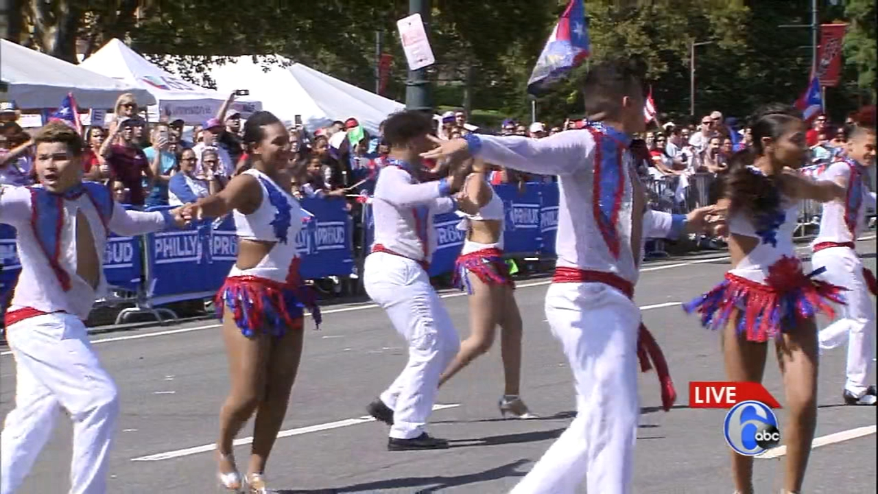 Puerto Rican Day Parade Makes Its Way Down The Ben Franklin Parkway 6abc Com