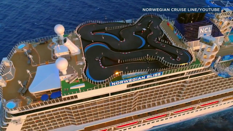 One of world's biggest cruise ships visits LA