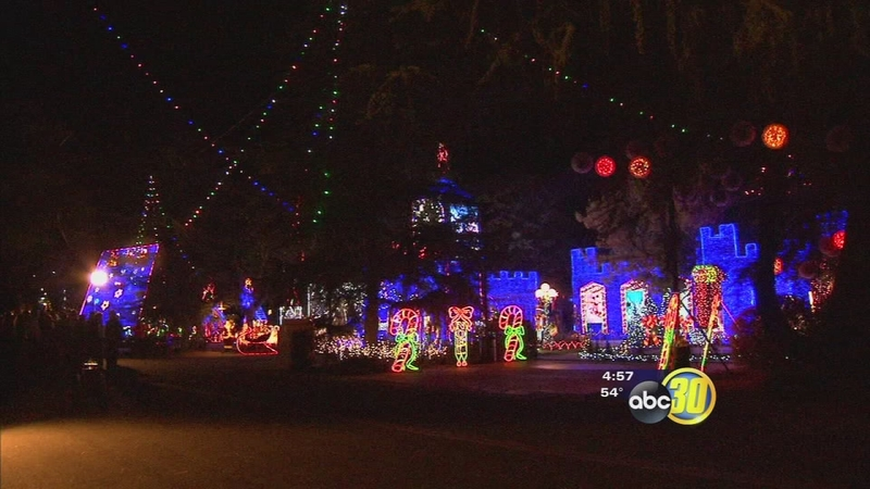 The Great Christmas Light Fight.Fresno Home Featured On Great Christmas Light Fight