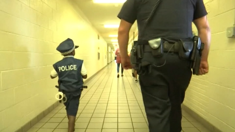 6-year-old becomes honorary officer