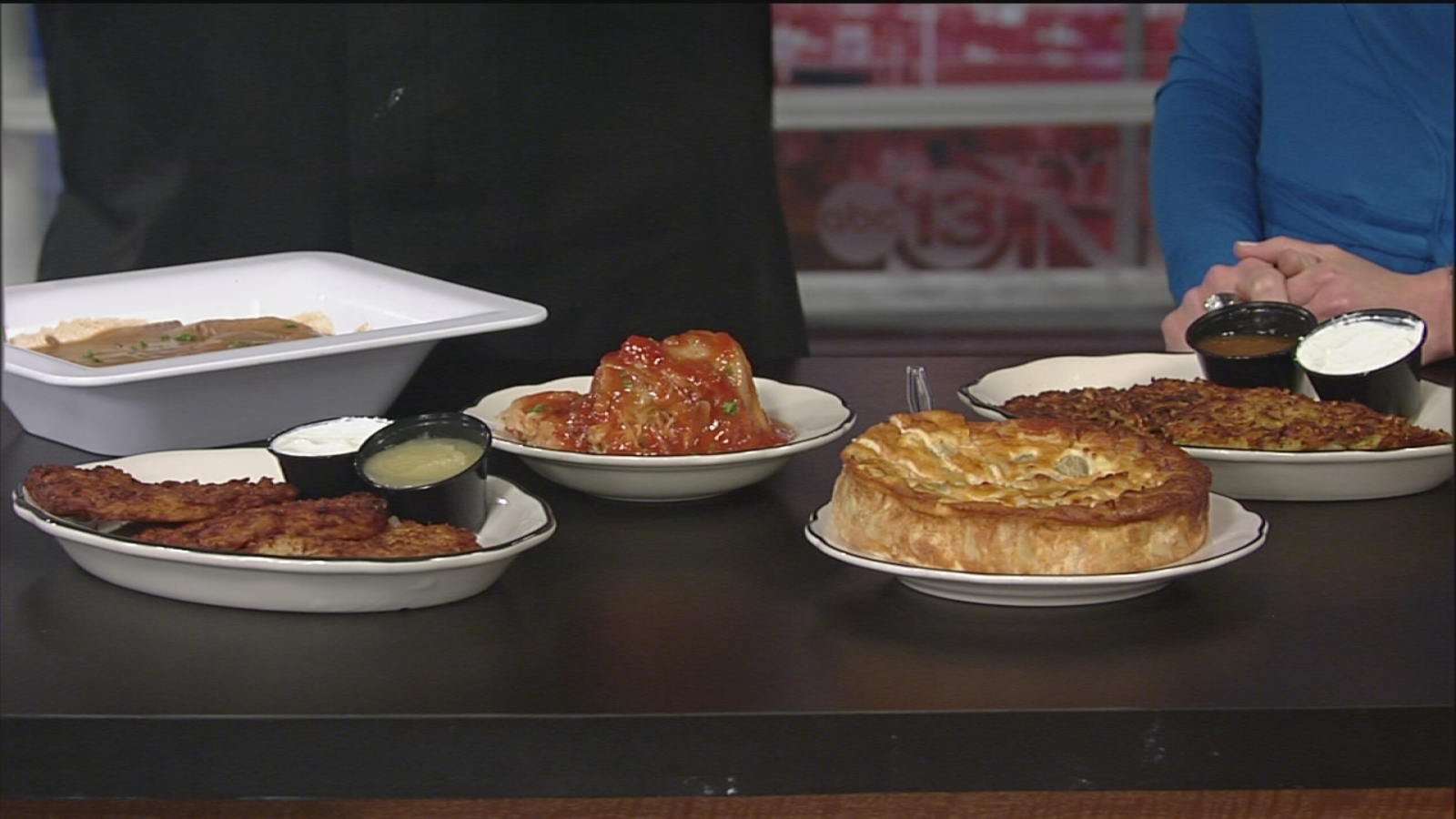 Check out these traditional Hanukkah foods from Kenny ...