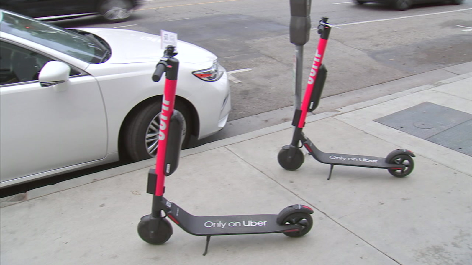 Uber Deploys Jump Electric Scooters In Santa Monica