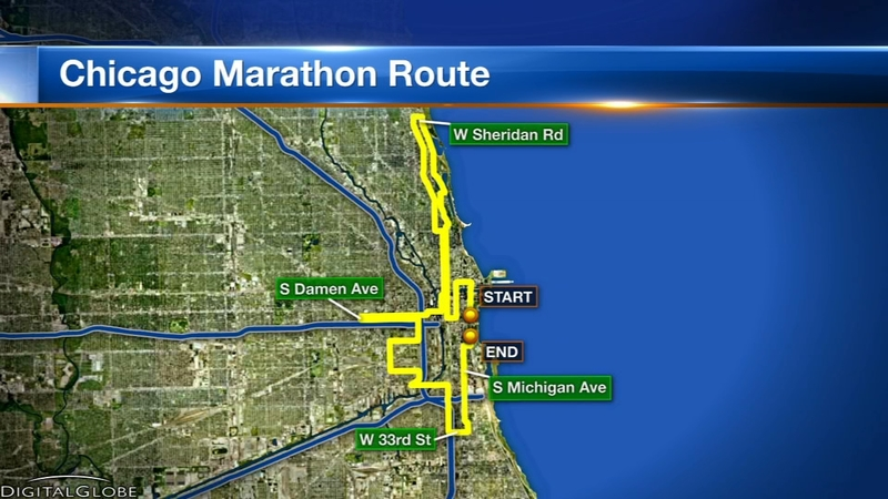 Chicago Marathon 2018: Course map, street closures, security ... on