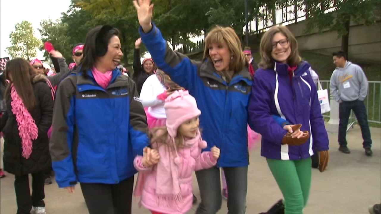Mother day breast cancer walk chicago