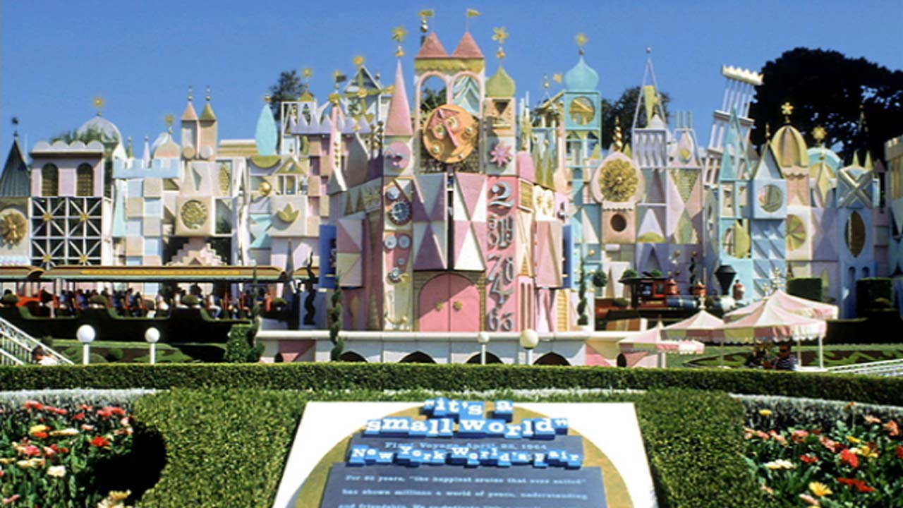 "File photo of the ""It's A Small World"" ride at Disneyland in Anaheim, California."