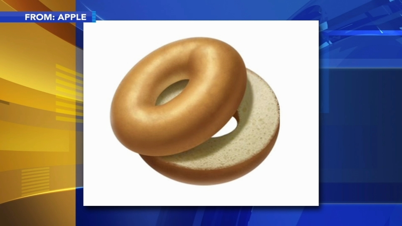 Petition calls for Apple to change the bagel emoji