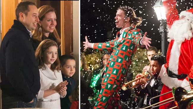 awesome prank christmas carolers surprise family with entire orchestra choir and dance team abc13com - Christmas Carollers