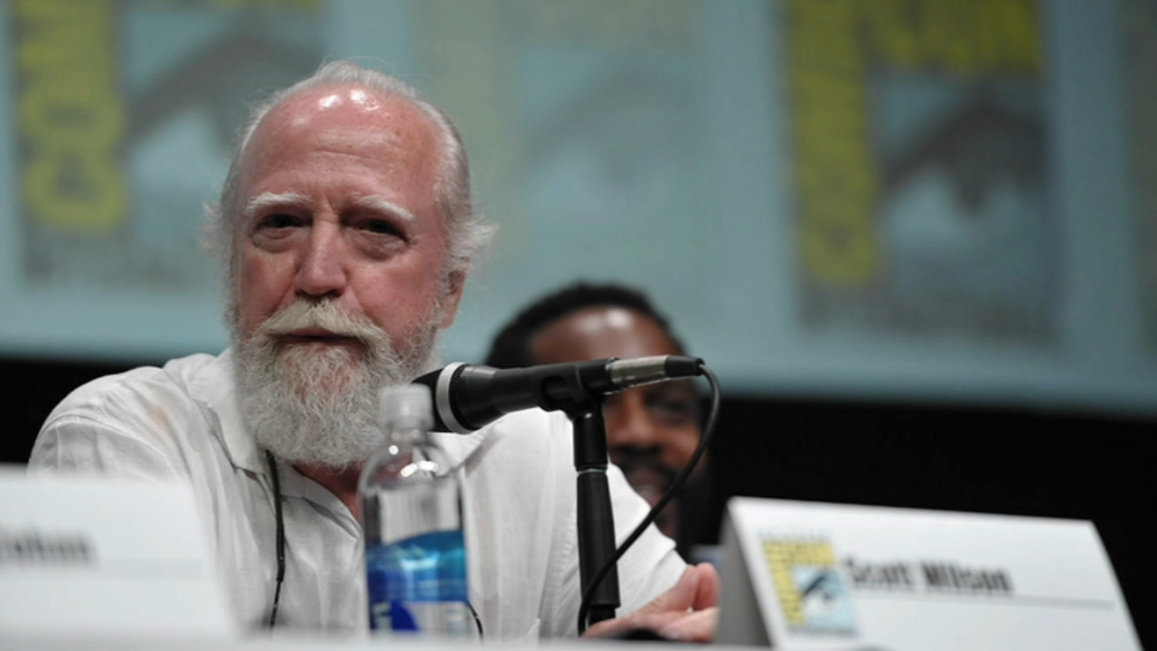 <div class='meta'><div class='origin-logo' data-origin='none'></div><span class='caption-text' data-credit=''>Veteran actor Scott Wilson dies at 76 years old. Nydia Han reports during Action News at 6 a.m. on October 7, 2018.</span></div>
