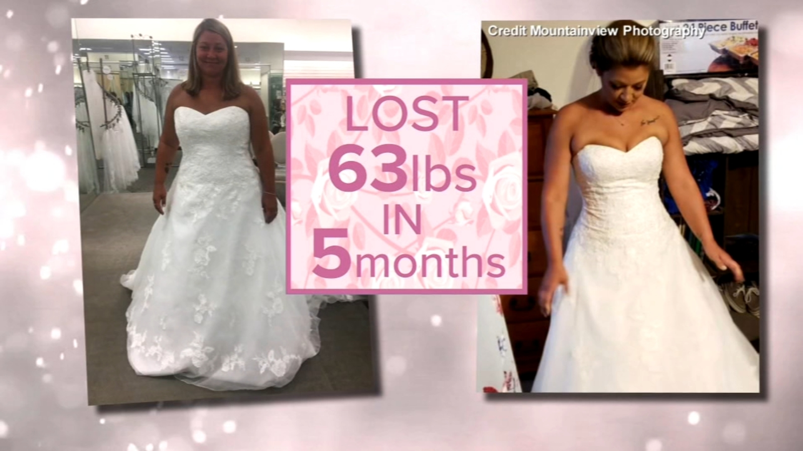 Illinois Bride Who Lost Over 60 Pounds Before Her Wedding
