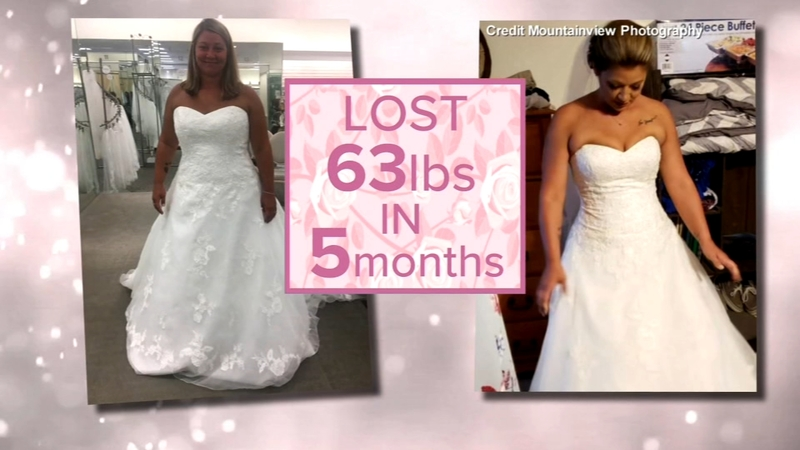 Wedding Weight Lose.Bride Who Lost Over 60 Pounds Before Her Wedding Shares Her Story