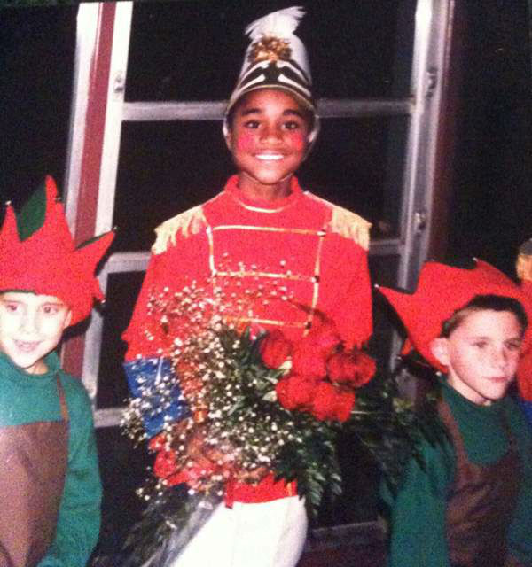 """<div class=""""meta image-caption""""><div class=""""origin-logo origin-image """"><span></span></div><span class=""""caption-text"""">Ngozi Ekeledo takes part in a 4th grade Holiday Spectacular. (WTVD Photo)</span></div>"""