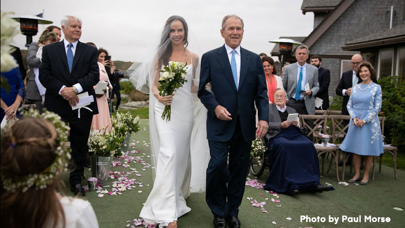 Former First Daughter Barbara Bush Marries Craig Coyne In Secret