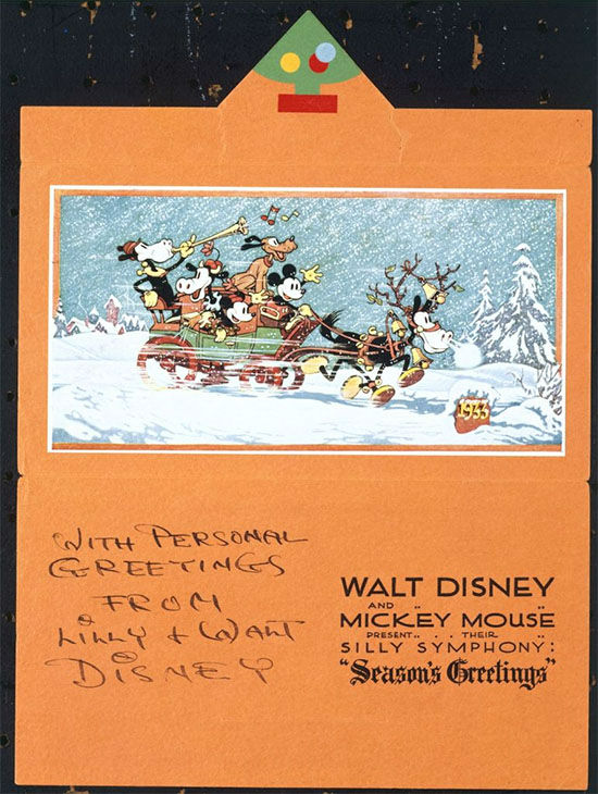 disney photo christmas cards