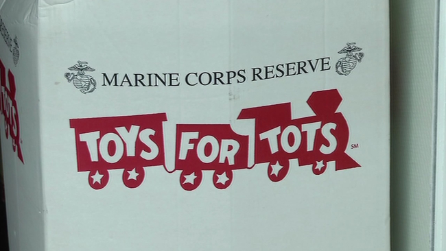 Toys For Tots Graphics : Donations down for toys for tots abc7news.com