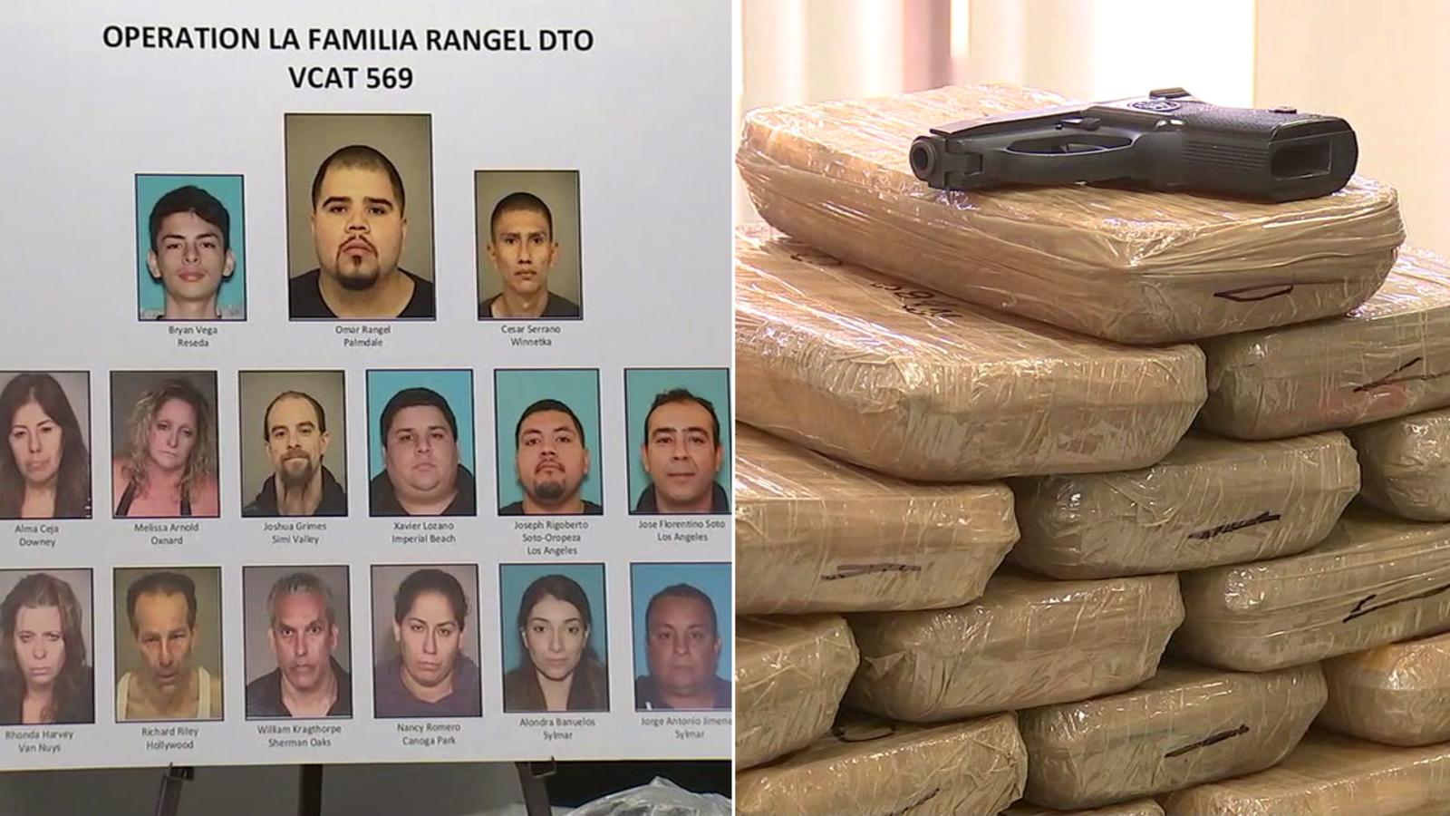 Sinaloa cartel members arrested in Ventura County drug bust operation