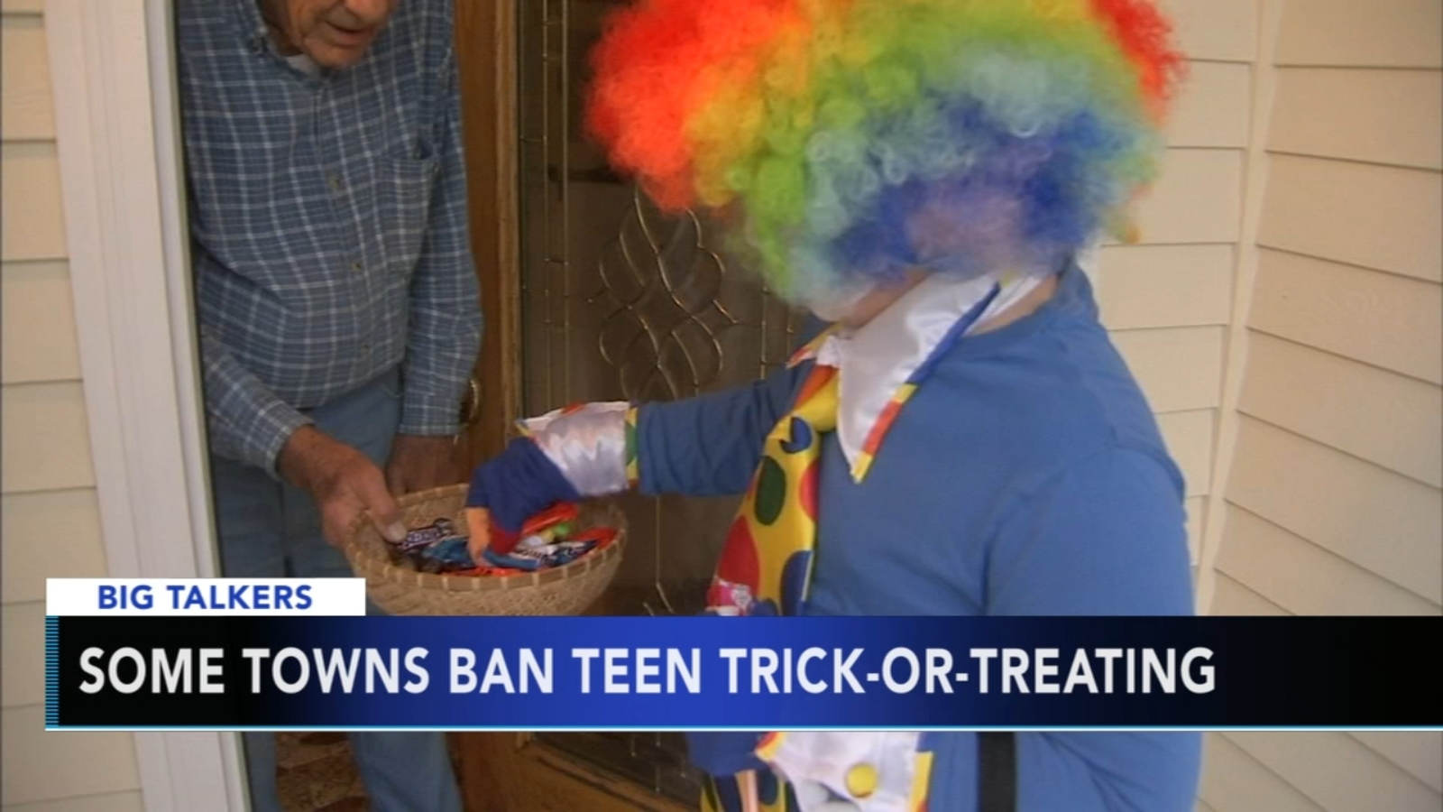 Some towns ban teen trick-or-treating