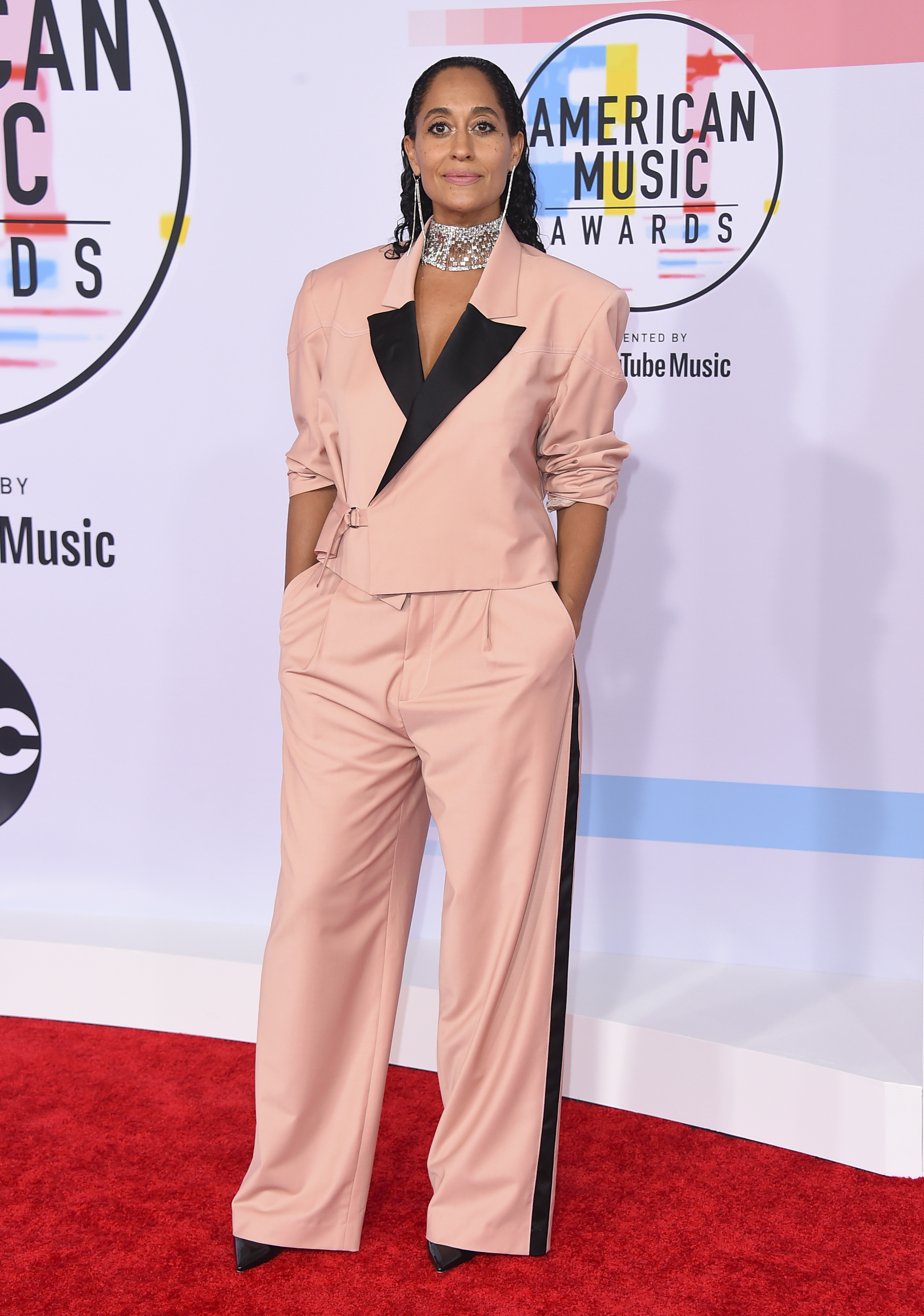 "<div class=""meta image-caption""><div class=""origin-logo origin-image ap""><span>AP</span></div><span class=""caption-text"">Tracee Ellis Ross arrives at the American Music Awards on Tuesday, Oct. 9, 2018, at the Microsoft Theater in Los Angeles. (Jordan Strauss/Invision/AP)</span></div>"