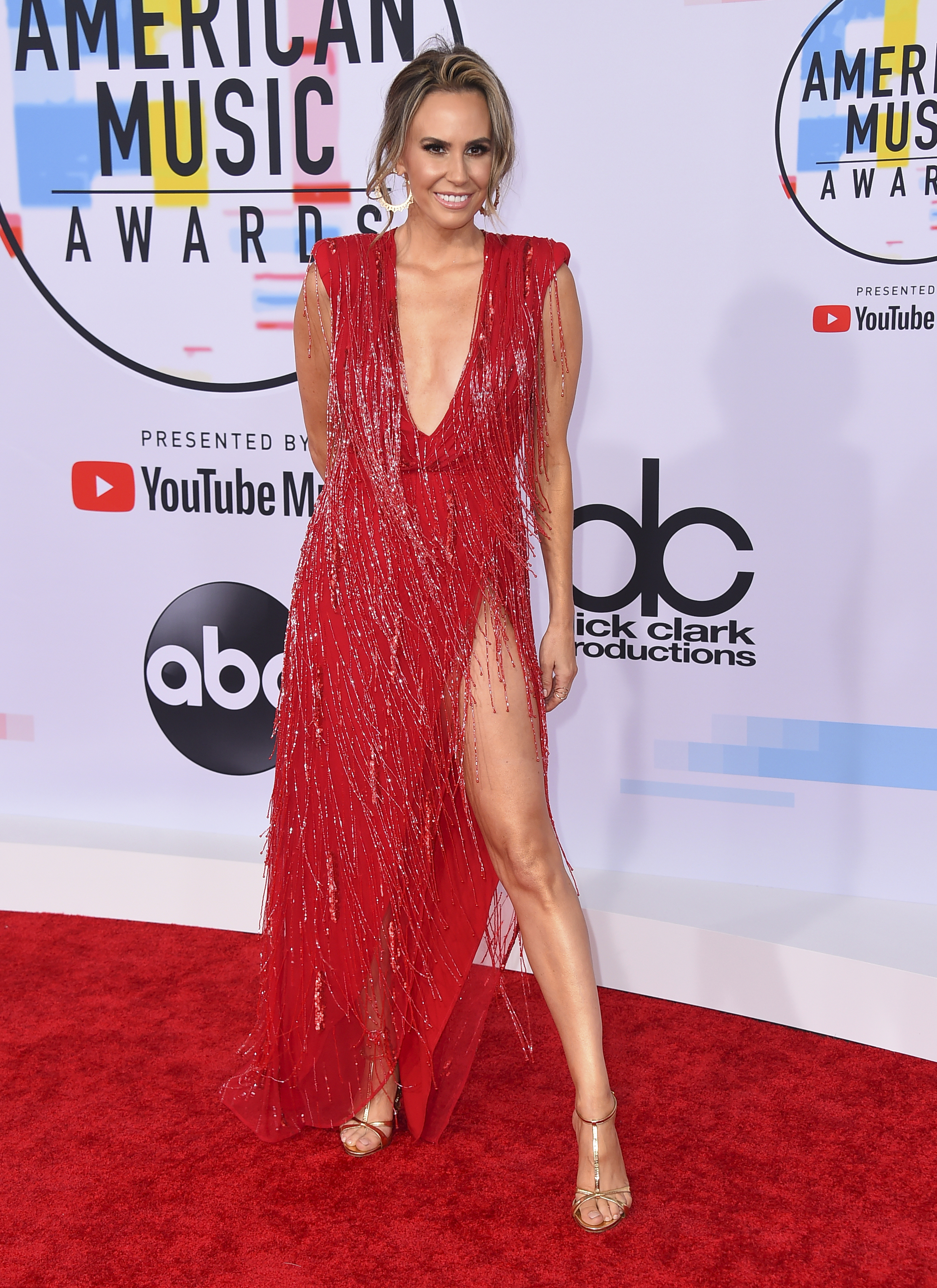"<div class=""meta image-caption""><div class=""origin-logo origin-image ap""><span>AP</span></div><span class=""caption-text"">Keltie Knight arrives at the American Music Awards on Tuesday, Oct. 9, 2018, at the Microsoft Theater in Los Angeles. (Jordan Strauss/Invision/AP)</span></div>"