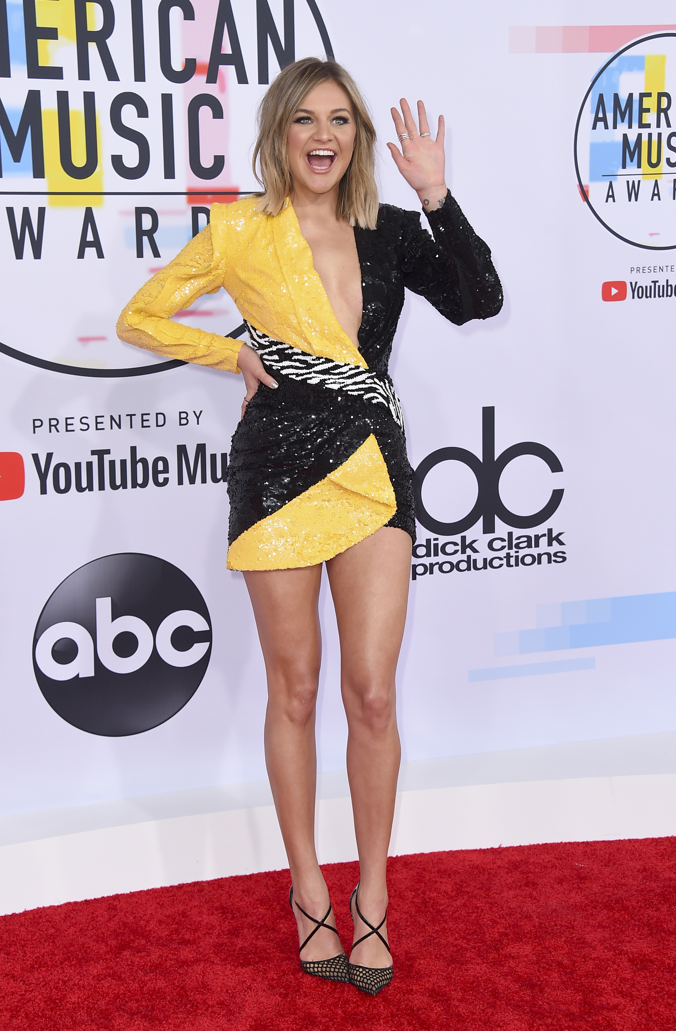 "<div class=""meta image-caption""><div class=""origin-logo origin-image none""><span>none</span></div><span class=""caption-text"">Kelsea Ballerini arrives at the American Music Awards on Tuesday, Oct. 9, 2018, at the Microsoft Theater in Los Angeles. (Jordan Strauss/Invision/AP)</span></div>"