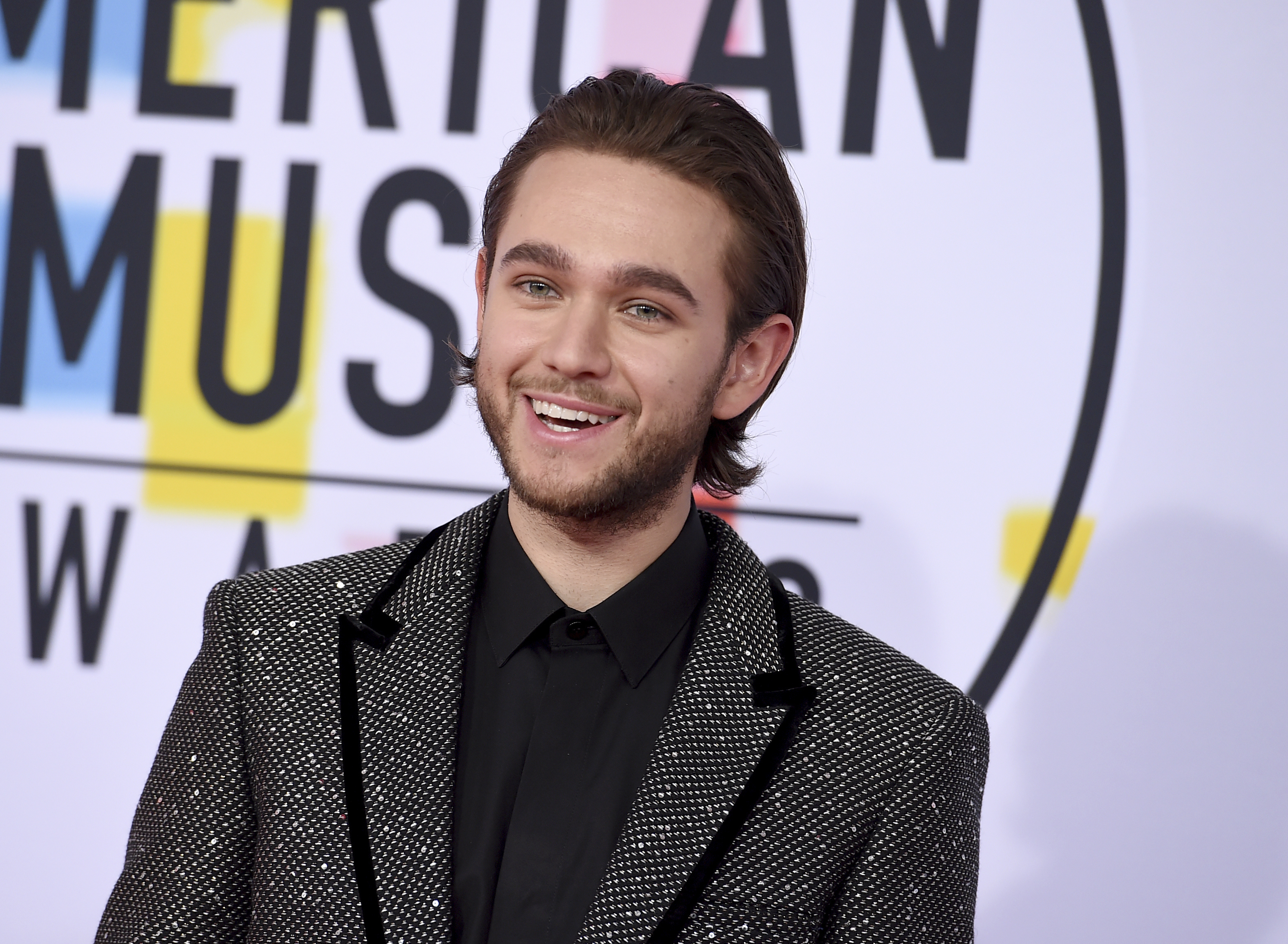 "<div class=""meta image-caption""><div class=""origin-logo origin-image none""><span>none</span></div><span class=""caption-text"">Zedd arrives at the American Music Awards on Tuesday, Oct. 9, 2018, at the Microsoft Theater in Los Angeles. (Jordan Strauss/Invision/AP)</span></div>"