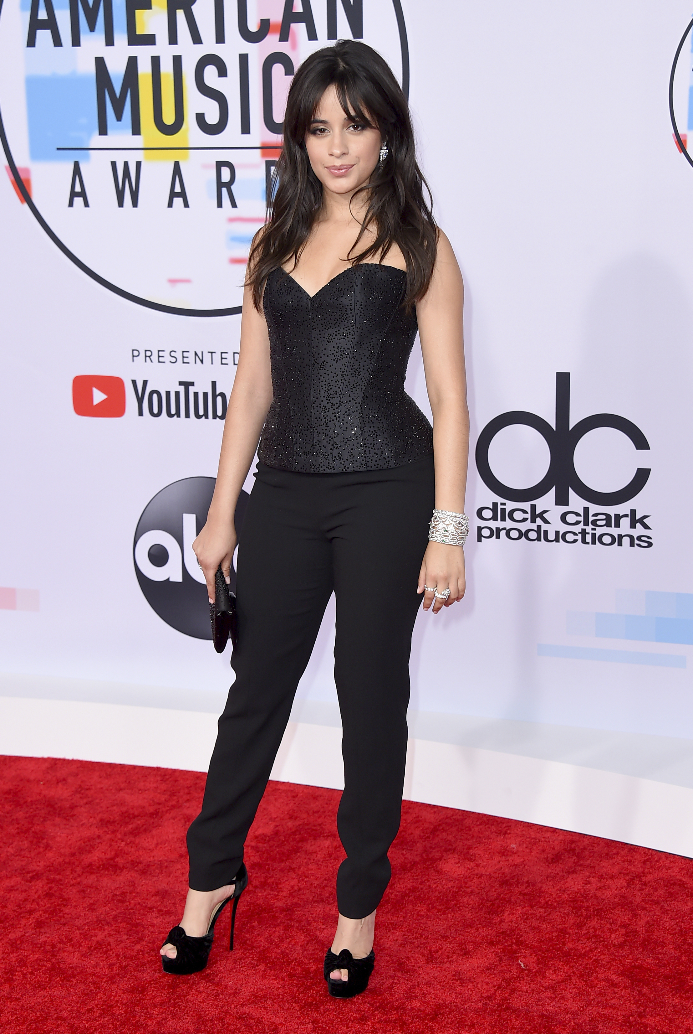 "<div class=""meta image-caption""><div class=""origin-logo origin-image none""><span>none</span></div><span class=""caption-text"">Camila Cabello arrives at the American Music Awards on Tuesday, Oct. 9, 2018, at the Microsoft Theater in Los Angeles. (Jordan Strauss/Invision/AP)</span></div>"
