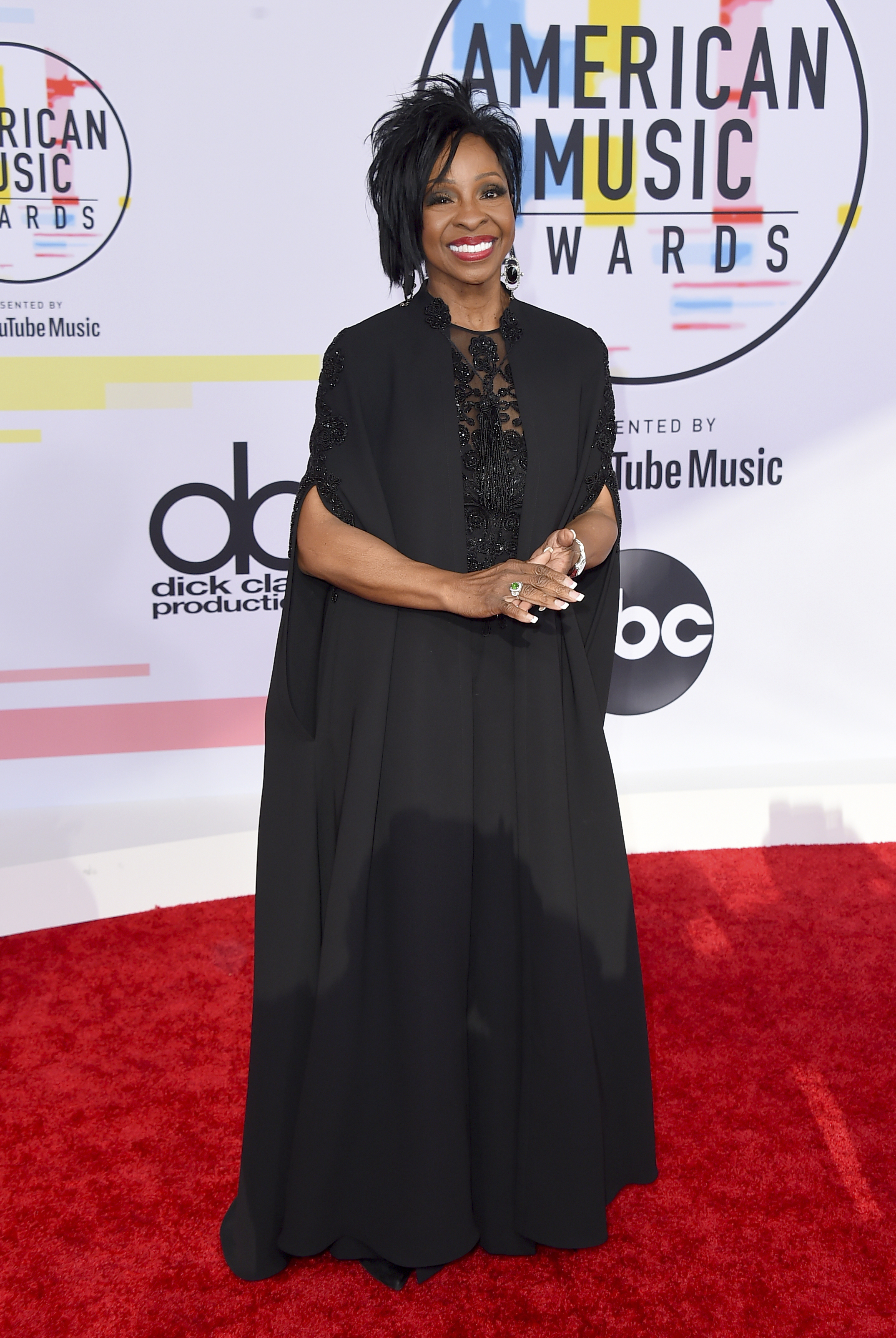 "<div class=""meta image-caption""><div class=""origin-logo origin-image none""><span>none</span></div><span class=""caption-text"">Gladys Knight arrives at the American Music Awards on Tuesday, Oct. 9, 2018, at the Microsoft Theater in Los Angeles. (Jordan Strauss/Invision/AP)</span></div>"