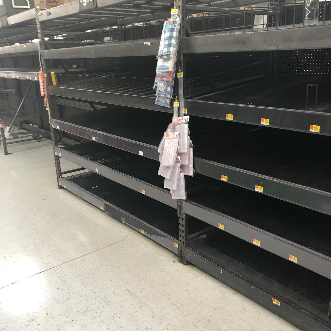 <div class='meta'><div class='origin-logo' data-origin='none'></div><span class='caption-text' data-credit='jennywenlund/Instagram'>These empty shelves were spotted on Tuesday in Fort Walton Beach, Florida.</span></div>