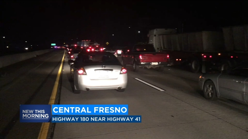 Highway 180 at a 90 minute standstill overnight due to debris