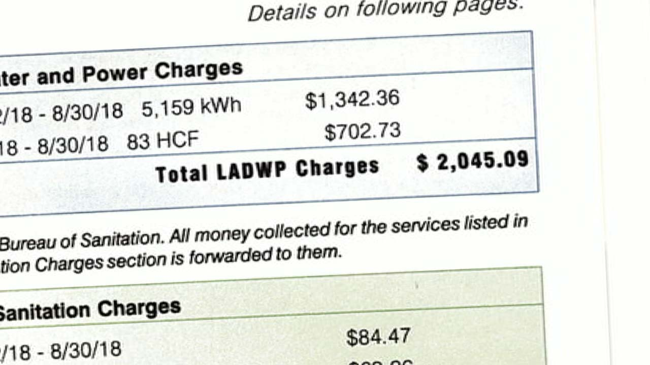 Higher Ladwp Bills May Stem From Heat Wave New Rate Increases