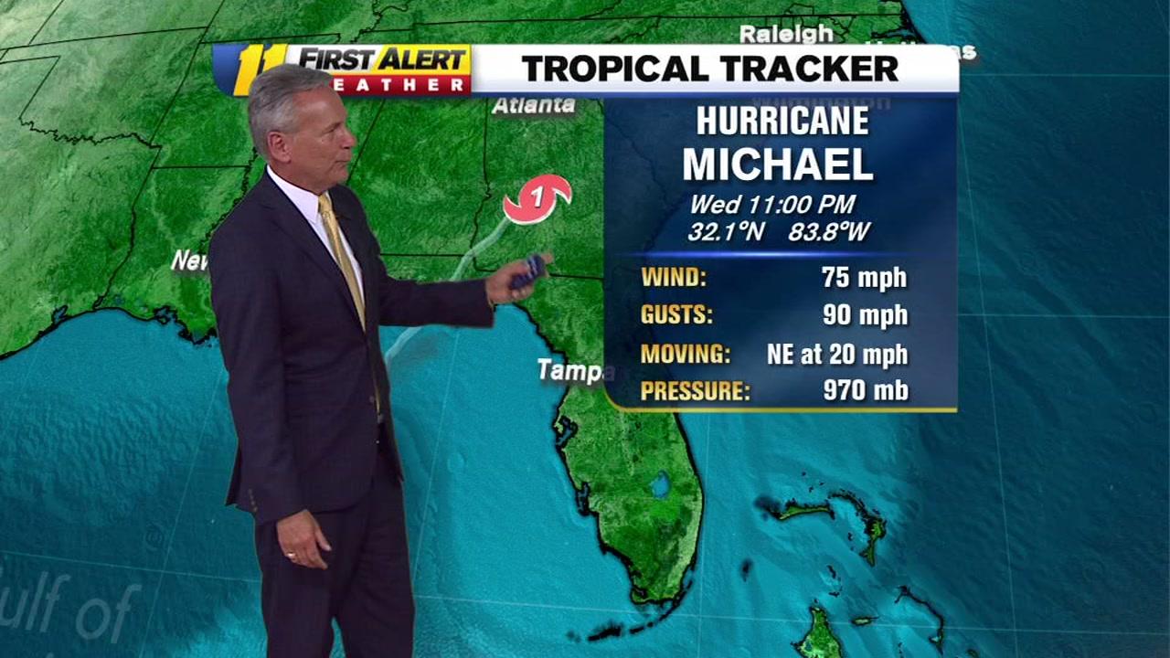 Hurricane Michael 2018 Widespread Damage In Florida Storm Weakens