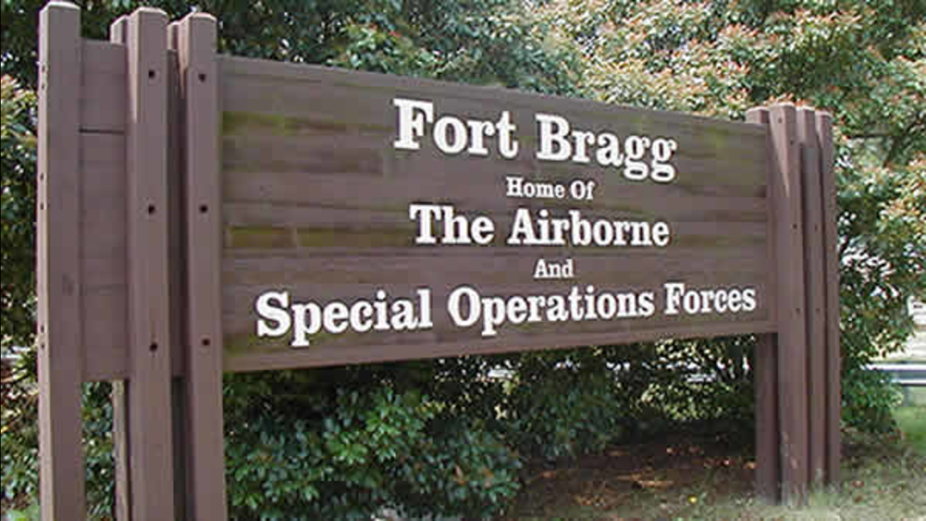 Fort Bragg sign generic