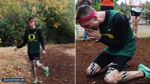 5243ddf74dabc8 Man is 1st athlete with cerebral palsy to sign with Nike