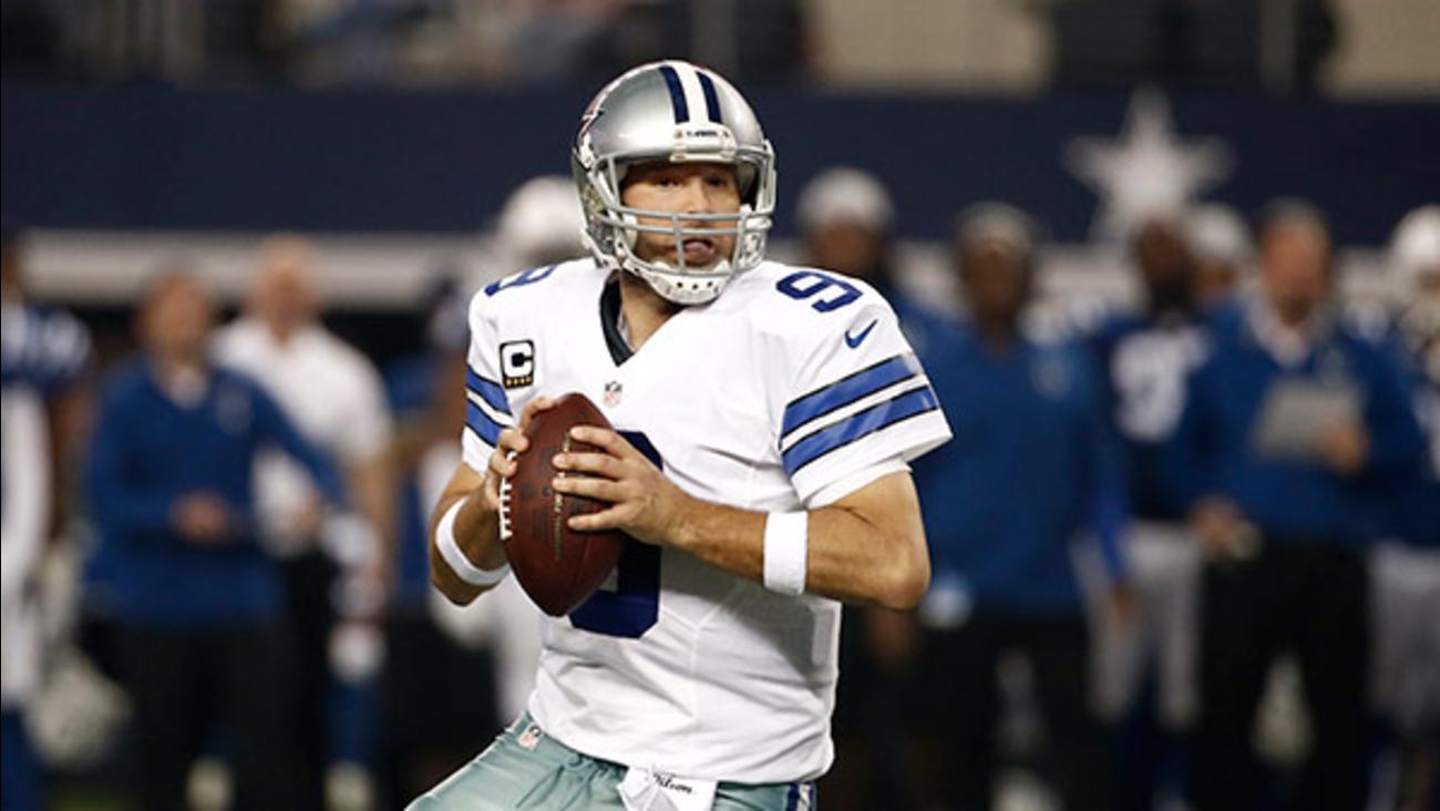 Cowboys QB Tony Romo